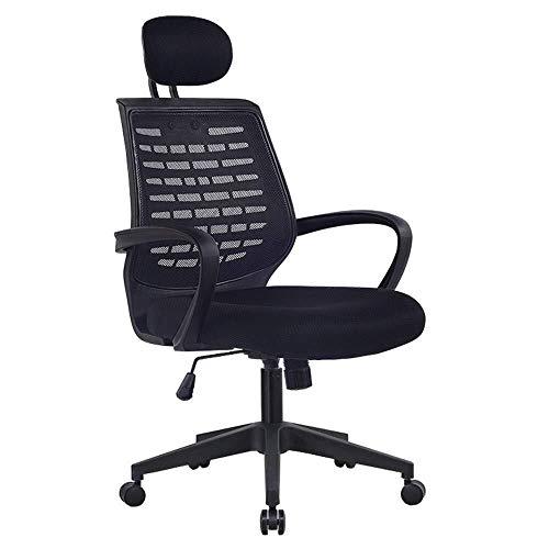 XKKD Bureaustoel voor computer thuis, ademend netweefsel, verstelbare hoogte, bureaustoel, draaistoel, kogelgewicht 150 kg