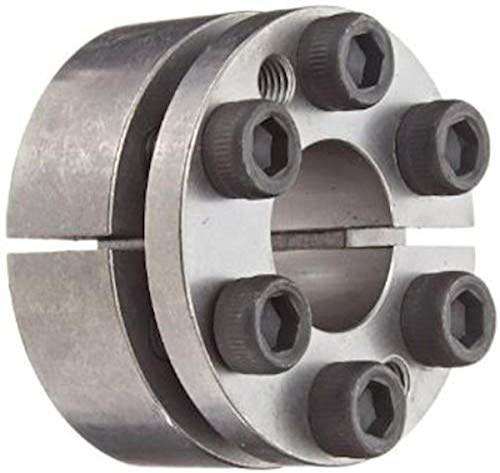 Lovejoy 1850 Series Shaft Locking Device, Metric, 48 mm shaft diameter x 80mm outer diameter of shaft locking device, 1853 ft-lb Maximum Transmissible Torque