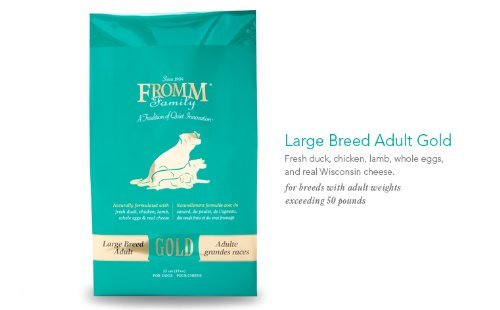 Fromm Family Foods 33 Lb Adult Gold Large Breed Formula Dry Dog Foods (1 Pack), One Size