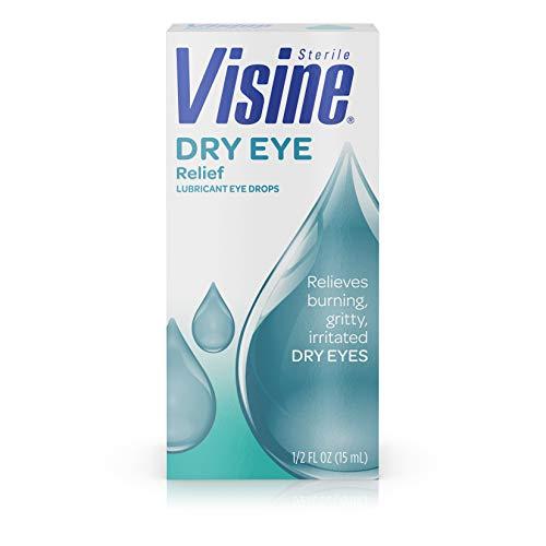 Visine Tears Lubricant Eye Drops for Dry Eye Relief, 0.5 Fluid Ounce by Visine