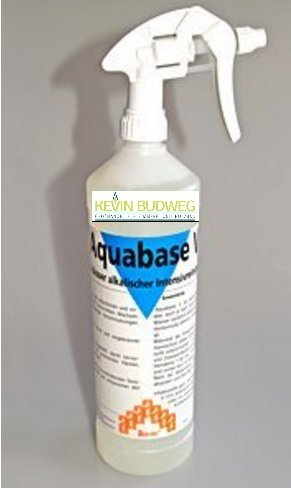 Ambratec Aquabase V 1 Liter Viskoser, alkalischer Intensivreiniger Küchen-Fettlöser Kaminscheiben Reiniger