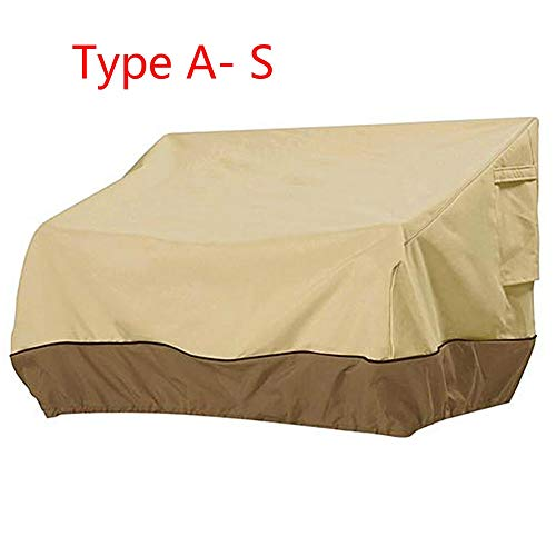Rose All-Purpose Covers - Patio Furniture Cover Outdoor Yard Garden Chair Sofa Waterproof Dust Cover Sun Protection Oxford Cloth Foldable Drawstring Table - by 1 PCs