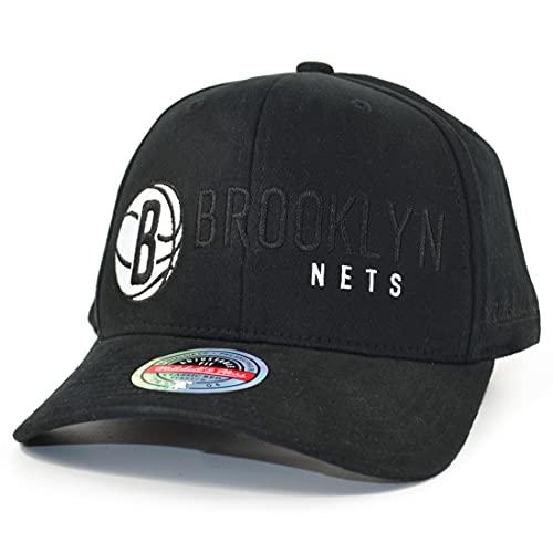 Mitchell & Ness Alleyoop Brooklyn Nets - Cappellino con visiera, colore: Nero