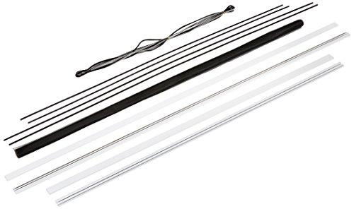 hecht international 100690101-VH Fliegengitter Fenster MASTER SLIM 130x150 cm in Weiß, 130 x 150 cm