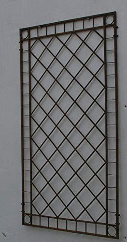 Gabella Metall Eisen Spalier Rankgitter Rankhilfe Wandgitter Meran 100 Rost Rostig