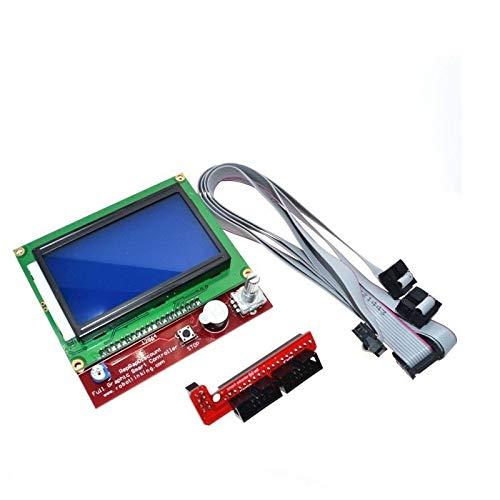 XBaofu 1 Juego en 3D de Piezas de Impresora for RAMPS1.4 12864 LCD del Controlador de la Impresora 3D Display Panel de Control