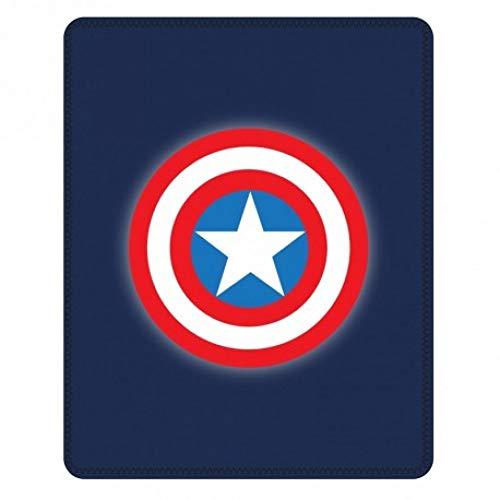 Marvel Avengers - Coperta in pile Capitan America, 120 x 150 cm