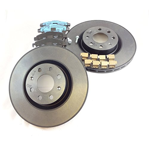 véritable pour Vauxhall Corsa D 1.3 Diesel 2007 + Disques de frein avant & Pad Kit. 93169289