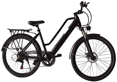 WJSWD Bicicleta de nieve eléctrica de 26 pulgadas, bicicleta eléctrica de 36 V, 250 W, pantalla LCD, luz LED para adultos, ciclismo al aire libre, batería de litio para adultos