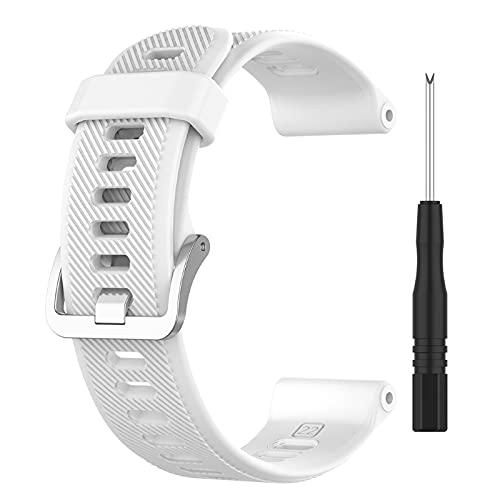 EATAN Correa de silicona suave impermeable de repuesto para Forerunner 745 correa de reloj pulsera reloj deportivo pulsera reloj pulsera