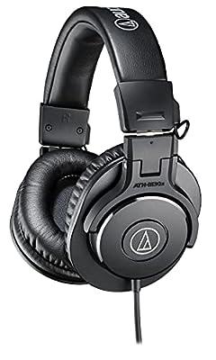 Audio-Technica ATH-M30X Professional Headphones - Black from Audio-technica