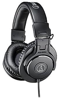 Audio-Technica ATH-M30x Professional Studio Monitor Headphones Black