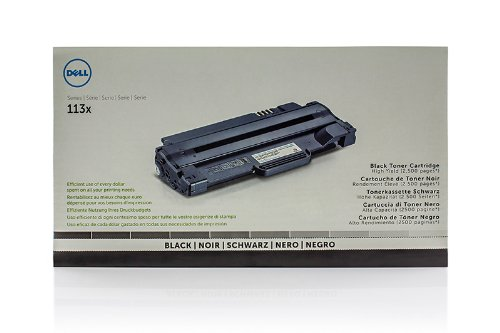 Original Dell 593-10961 / 7H53W Toner Black für Dell 1135 n