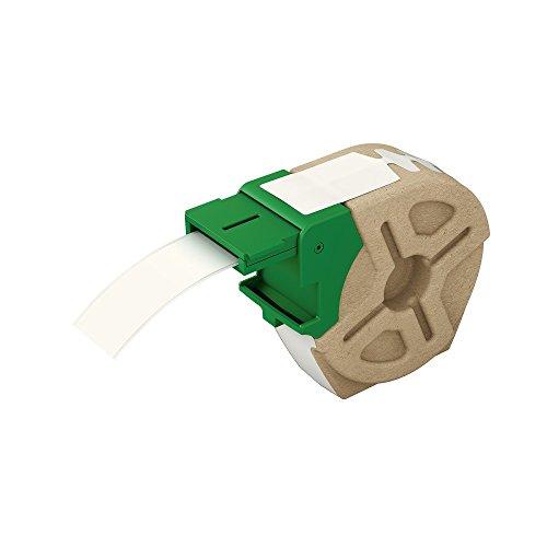 DURABLE 690802 38x150 mm confezione da 100 pezzi pressino fermafogli autoadesivo Flexifix Economy ideale per superfici lisce bianco