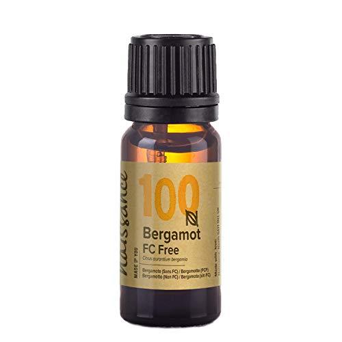 Naissance Aceite Esencial de Bergamota sin Furanocumarinas 10ml - 100% puro, vegano y no OGM