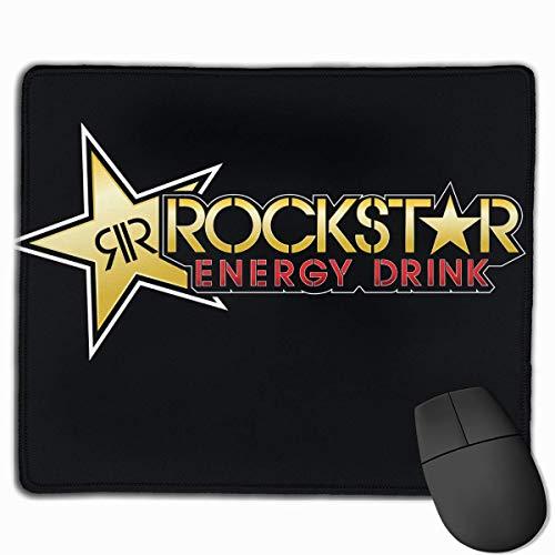 ASDAH Mauspad mit rutschfestem Design, Mauspad Rockstar für Energiegetränke, für Desktop PC und Laptop
