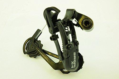 Sram X4 mtb vtt dérailleur arrière mécanique noir 7 8 vitesse longue cage 280g