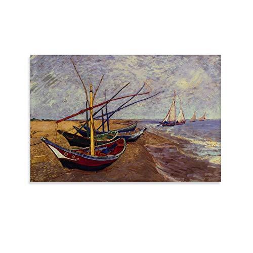Póster de la lona de DRAGON VINES Van Gogh Escritos de la...