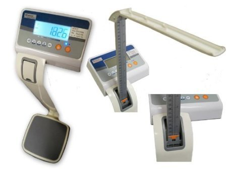 Best Review Of Digital Medical Scale, w/ Height Rod & Body Mass Index Measurement