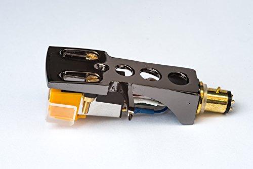 Spiegel Titan beschichtet Schale, Halter mit AT Tonabnehmer, Nadel für AKAI AP-006, ATT05U, AP-306/C, ATT022U, AP-007, AP-Q50, AP-D30. AP-307, AP-005, ATT10U, AP-103/C, AP-Q80, AP-Q55