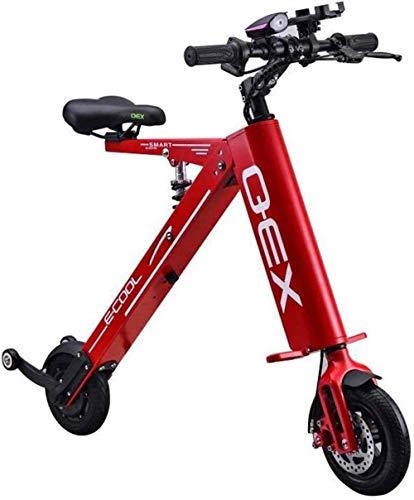 Bicicleta eléctrica Bicicleta eléctrica por la mon Bicicletas rápidas y Eléctrica en adultos plegable bicicleta eléctrica bicicleta adulta Velocidad máxima 20 kmh 20 KM de largo alcance con pantalla L