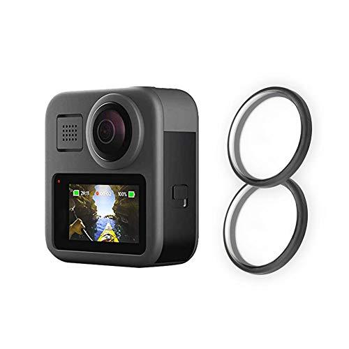 rcraftn Lente para GoPro MAX Desnudo Accesorios de cámara Deportiva Duradera Lentes de cámara de Movimiento Gafas HD Protector de Pantalla Láminas Mejor protección