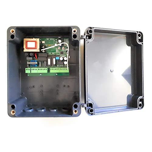Central cuadro maniobras universal garaje puerta batiente de 1 o 2 hojas para motores de 220v