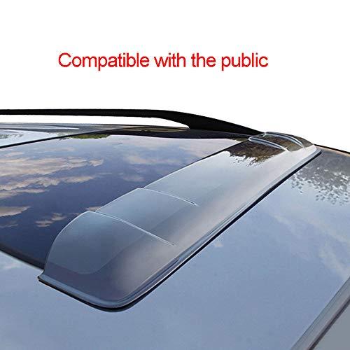 OTQEALY Kompatibel Mit/Ersatz Für Auto-Windabweiser Für Die Öffentlichkeit, Oberlicht-Windabweiser-Polo, Schiebedach-Schallwand, Modifiziertes Sonderzubehör,A