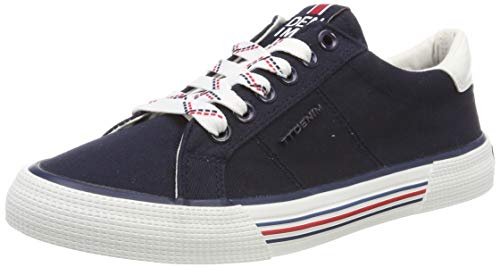 TOM TAILOR Damen 6995301 Sneaker, Blau (Navy 00003), 38 EU