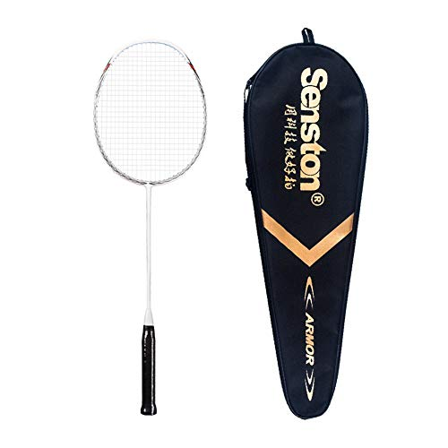 Senston N80 Carbon Fiber Badminton Racket with Badminton Racquet with Racket Cover