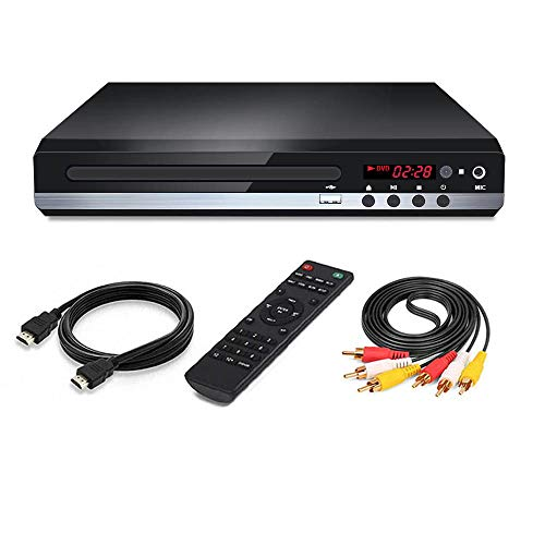 Affordable CD Player Multi Region Code Zone Free PAL/NTSC HD DVD Player with HDMI & Remote & USB /Co...