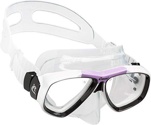 Cressi Focus Mask - Máscara de ciclismo, color lila