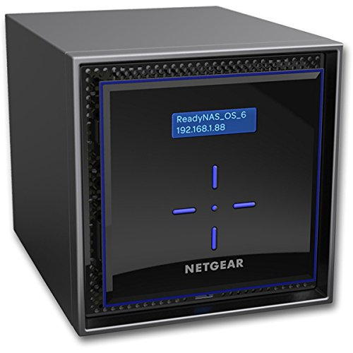 Netgear RN42400-100NES ReadyNAS (424 4-bay Network Attached Storage Diskless)