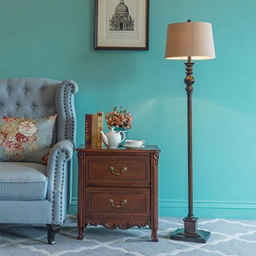 Vast minimalistische staande lamp, IKEA LED-vloerlicht, hars leeslamp instelbaar voor woonkamer slaapkamer 320