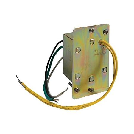 Amazon.com: Broan-NuTone C915 Doorbell Transformer, Easy Installation Lock  or Wall Mount Door Chime, 16V, 10VA: Home ImprovementAmazon.com