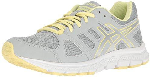 ASICS Women's Gel-Unifire TR 3 Cross-Trainer Shoe, Mid Grey/Silver/Elfin Yellow, 9 M US