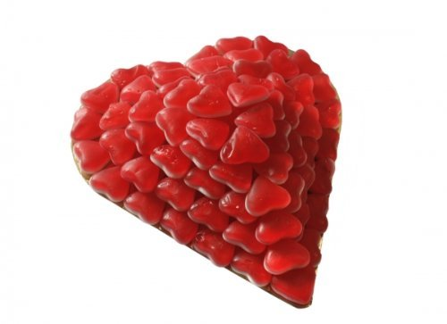 Dream - Love - Herztorte Menge:730g