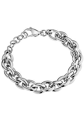 Calvin Klein Damen-Armband Statement Edelstahl One Size Silber 32011455