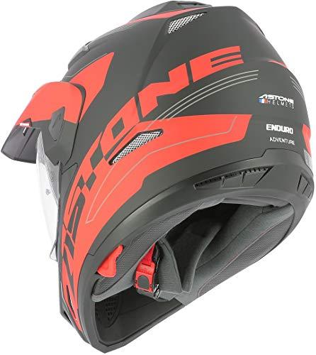 Astone Helmets tourer-advbrl Kopfhörer Tourer Adventure, Grau/Schwarz, M - 5