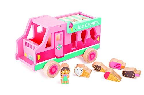 Small Foot - Camion de glacier jeu de motricité pour enfant