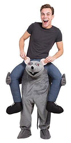 Bristol Novelty AF018 Huckepack Ratte Kostüm
