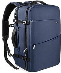 Inateck 40L Equipaje de Mano Mochila de Viaje Maleta de Cabina, Travel Carry on Backpack aprobada por Vuelo IATA/EasyJet/Ryanair, Azul