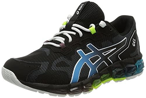 ASICS Gel-Quantum 360 6 GS, Running Shoe, Black/Aizuri Blue, 36 EU
