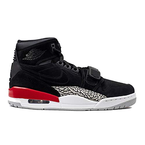 Nike 555798 602 Jordan 1 Flight 2 Herren Sportschuhe - Basketball Mehrfarbig (Gym Red/Gym Red Black White) 46