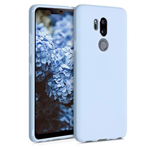 kwmobile Hülle kompatibel mit LG G7 ThinQ/Fit/One - Hülle Handyhülle - Handy Hülle in Hellblau matt