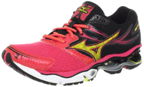 Mizuno Women's Wave Creation 14 Running Shoe,Rouge Red,9 B US