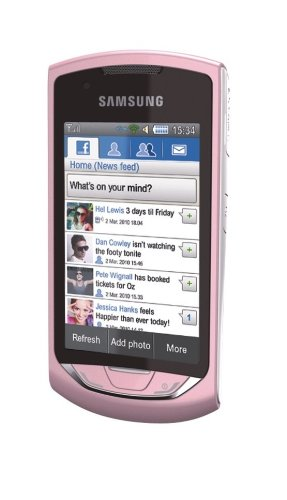 Samsung Monte GT-S5620 Pink Ohne Simlock
