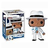 YISUDA Funko Pop! Famoso Michael Jackson Toys Doll Modelo Coleccionable