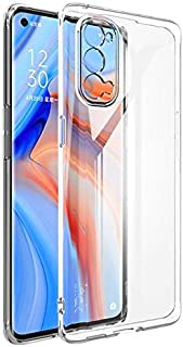 O Ozone Cover for Oppo Reno 4 Pro 5G Case, Flexible Invisible Series TPU Transparent Ultra-Thin, Slim Protection [ Wireles...
