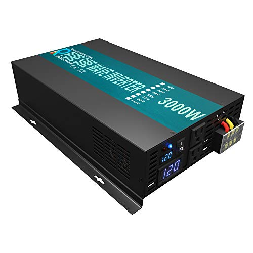 WZRELB Reliable High Efficiency Pure Sine Wave Solar Power Inverter With LED Display